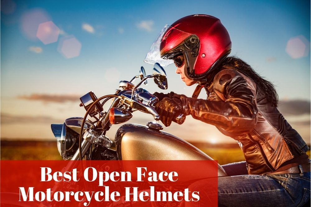 What are the most reliable and popular open face motorcycle helmets?